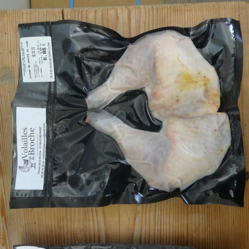 Sachet de 2 cuisses de poulet sous-vide