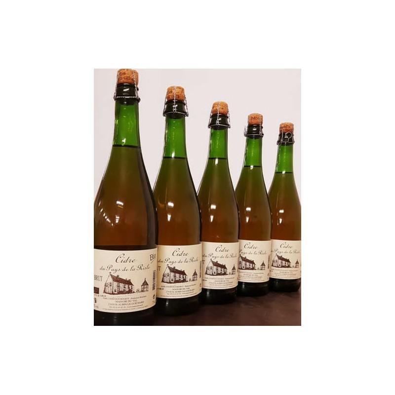 Cidre bio demi-sec Manoir du Val 75cl
