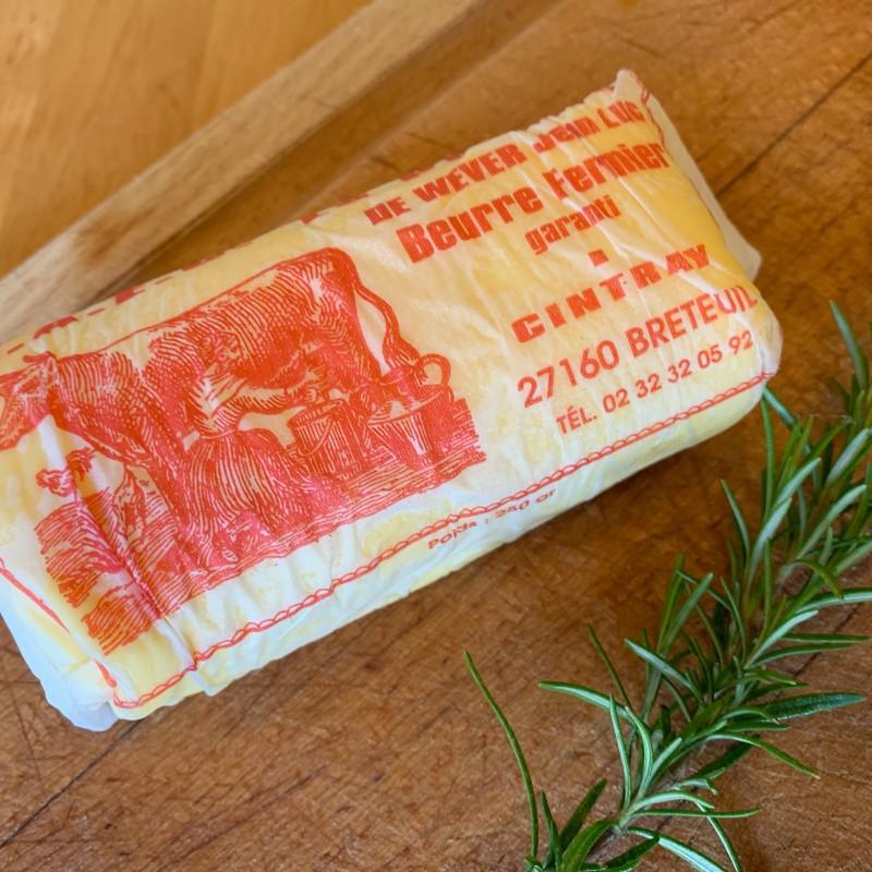 Beurre doux 250g Ferme du Puiseau