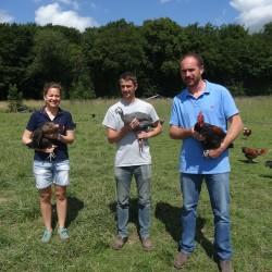Poulet cou nu noir plein air 120 jours (sans OGM) pret a cuire